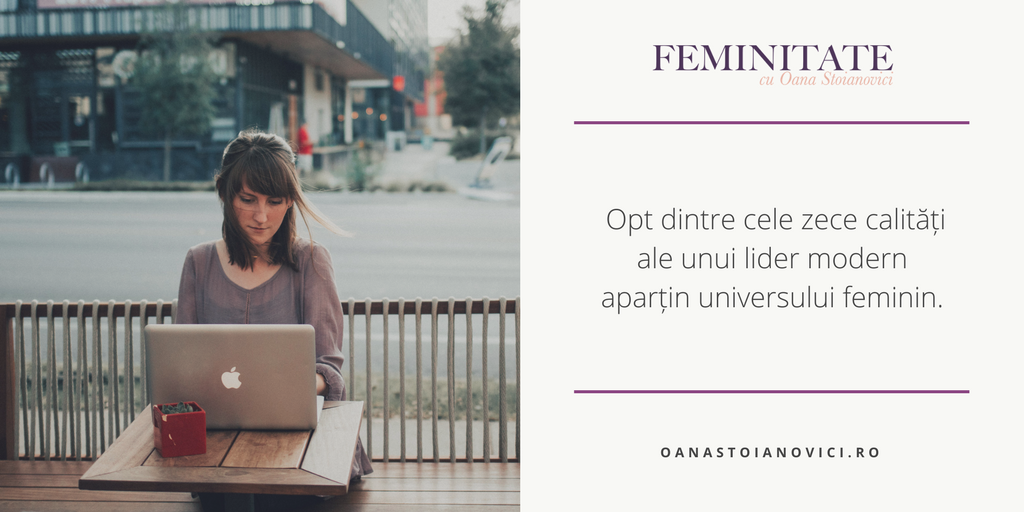 Despre feminitate, ldeadershio și performanță